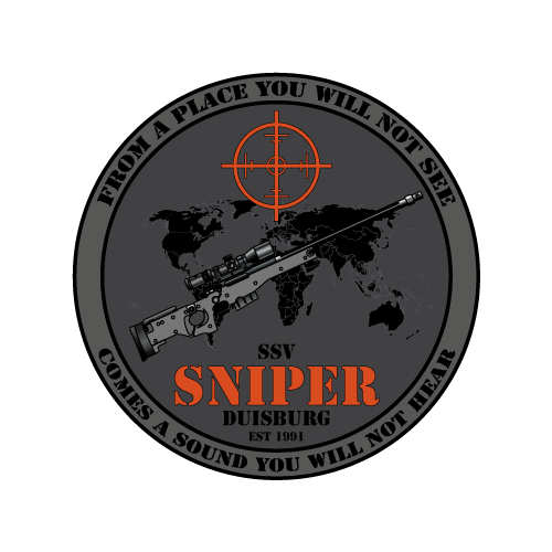 Logo SNIPER Duisburg black grey