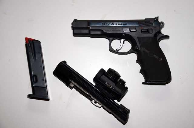 CZ 75 B Kaliber 9mm Luger